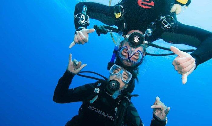 Murex Diving Interns