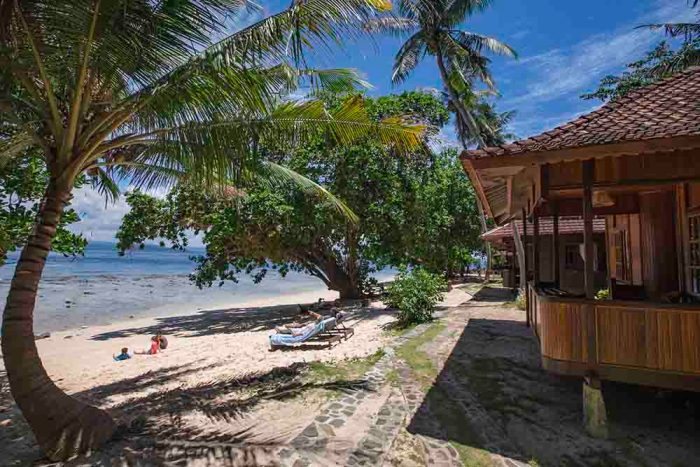 Murex Manado pool view