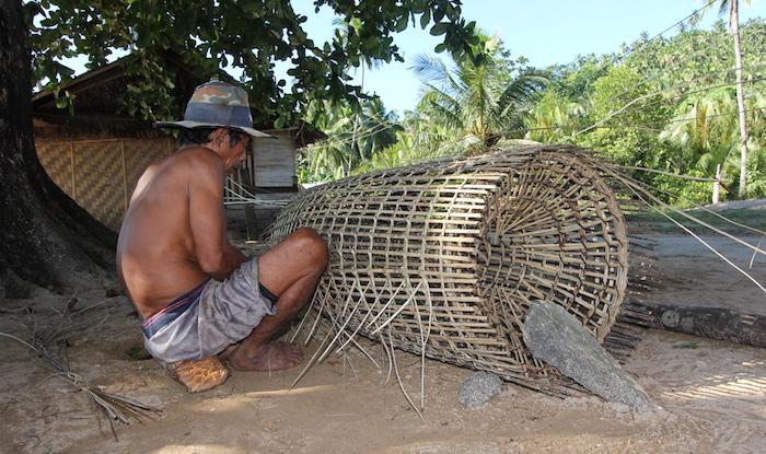 Traditional fish trap