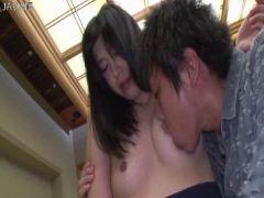 義理の弟に弱みを握られ美乳や敏感なおまんこを弄られてる美人妻の無理矢理犯している動画無料