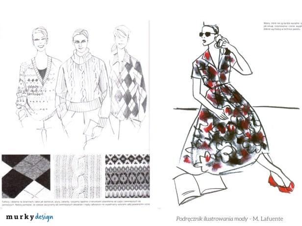 ksiazka podrecznik ilustrowania mody rysunek zurnalowy