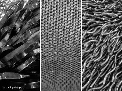 faktury z metalu