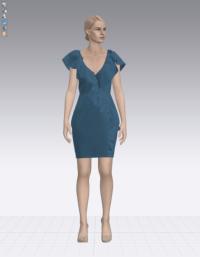 projektowanie mody 3D wersja kolorystyczna 2