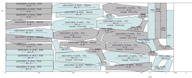 system CAD układy kroju optymalizacja krojowni