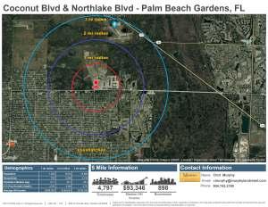 Coconut Blvd & Northlake Boulevard, Palm Beach Gardens, FL