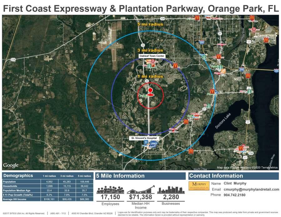 First Coast Expressway & Plantation Parkway, Orange Park, FL