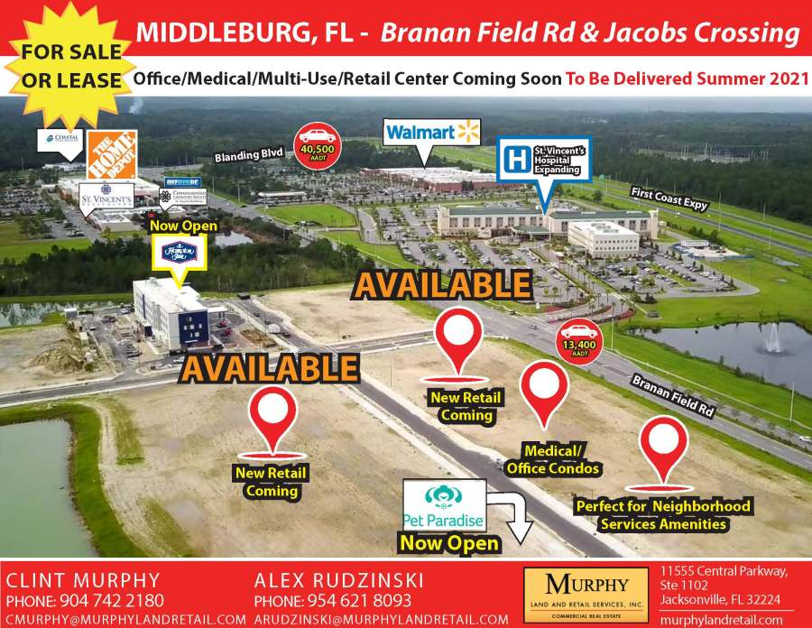 Branan Field Rd & Jacobs Crossing, Middleburg, FL