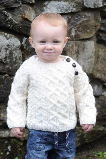 Wee Heritage Childs Aran Sweater