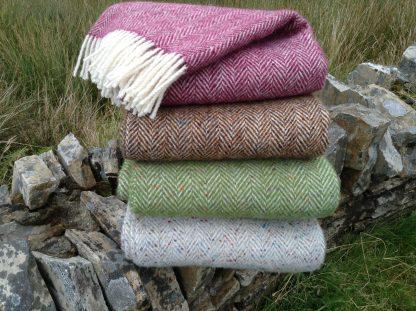 Newgrange Handwoven Tweed Throws
