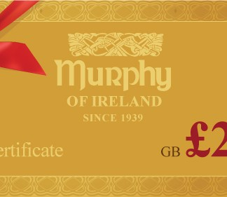Murphy of Ireland £200 Gift Certificate