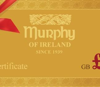 Murphy of Ireland £50 Gift Certificate