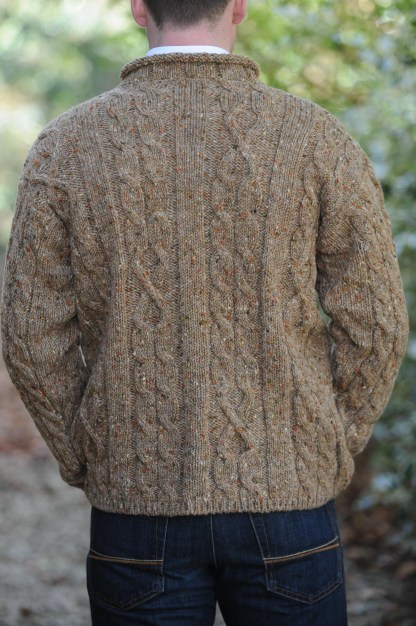 Finn Aran Sweater Oatmeal
