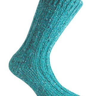 Donegal Tweed Sock - Turquoise