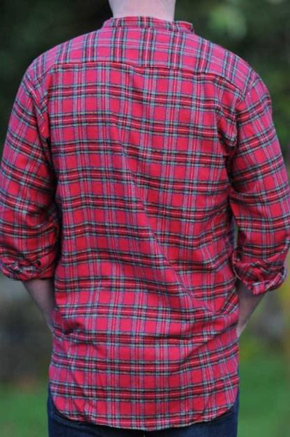 Gleneske Irish Grandfather Shirt Royal Stewart