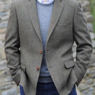Burren Herringbone Irish Tweed Jacket