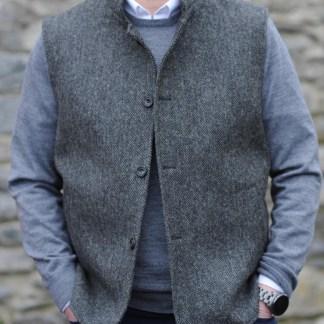 Wexford Tweedback Herringbone Waistcoat