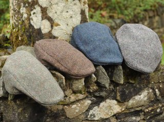 Irish Tweed & Linen Caps