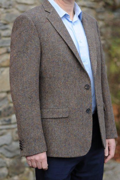 Kinvara Herringbone Tweed Jacket