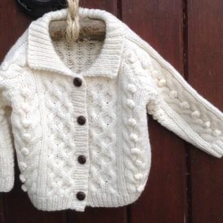 Wee Lumber Hand Knit Cardigan