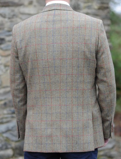 Glendalough Country Check Donegal Tweed Jacket