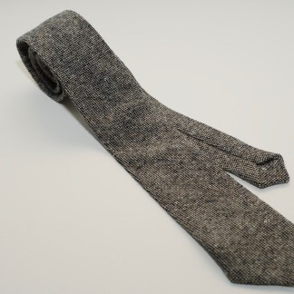 Donegal Tweed Tie Traditional Weave Oakwood