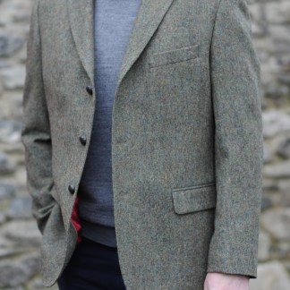 Glanmire 3 Button Traditional Tweed Jacket