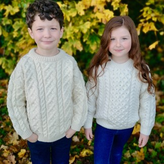 Children's Aran Sweaters