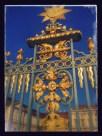 Prachtvolles Eingangstor