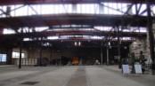 Die alte Betriebshalle