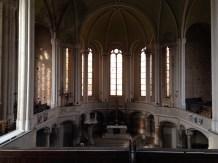 Ein weiter Blick ins Kirchenschiff
