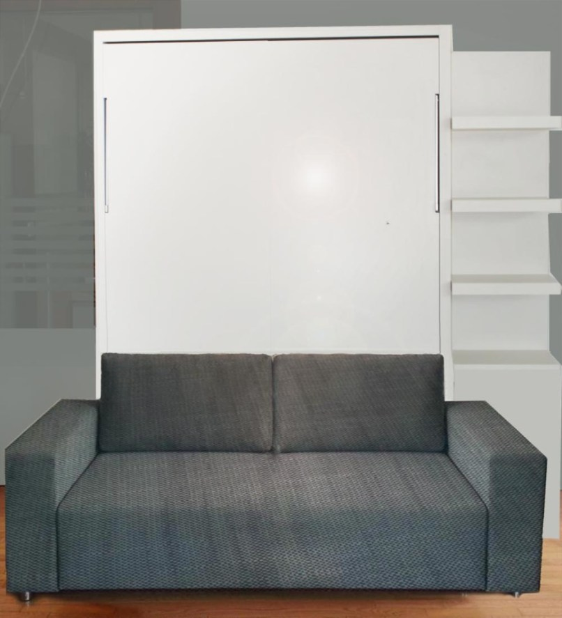 Murphysofa Wall Beds Fold Perfectly Over Sofas Desks Tables