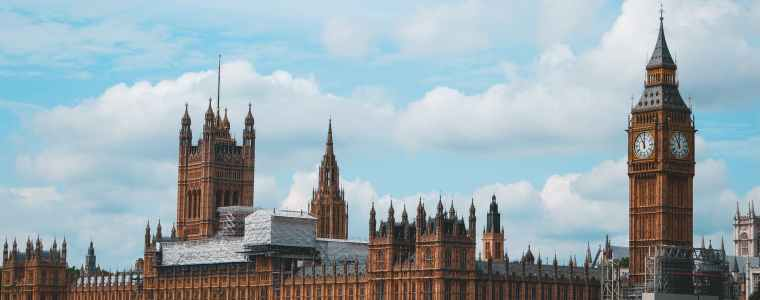 palace of westminster and big ben london england