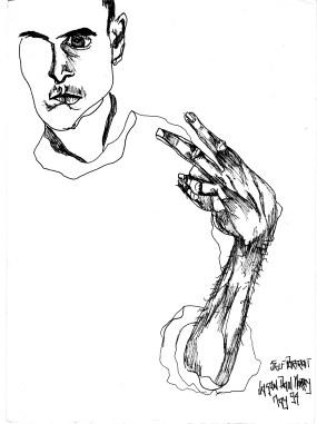 Self portrait 14 (edited)