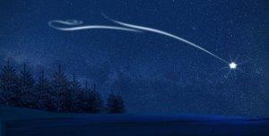 north star, stars, night