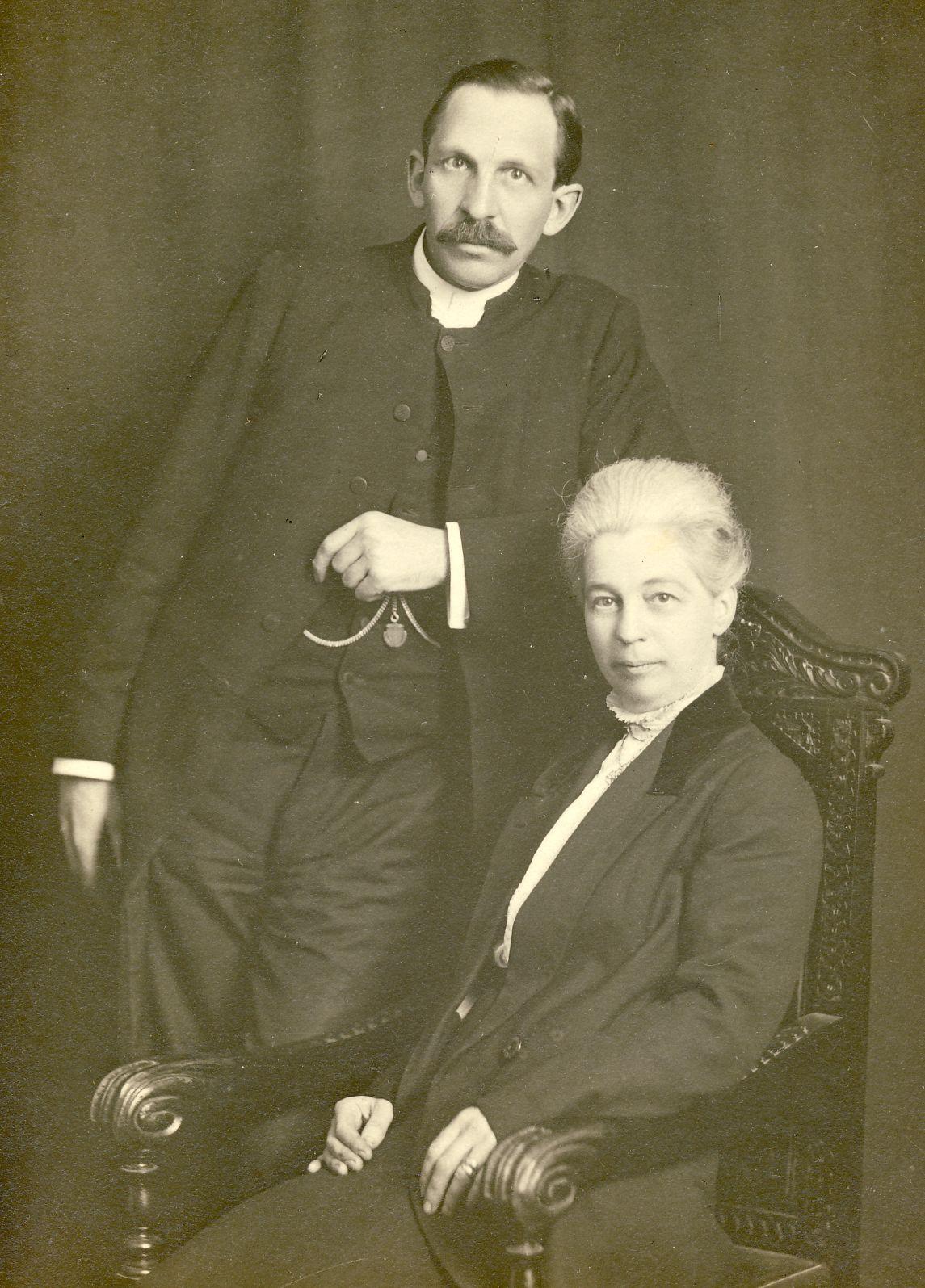 Gerrit and Mina du Plessis