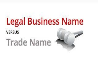 Trade name vs Legal Name