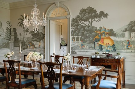 Zuber mural – A Passage To India