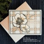 Wedding Happiness: Stampin' Up! Peaceful Moments & Best Plaid