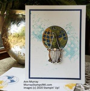 Gnome and globe