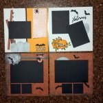 Scrapbook – Halloween Pages