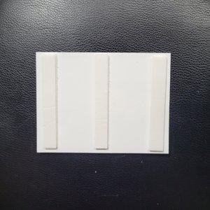 Foam Strips across back of card panel