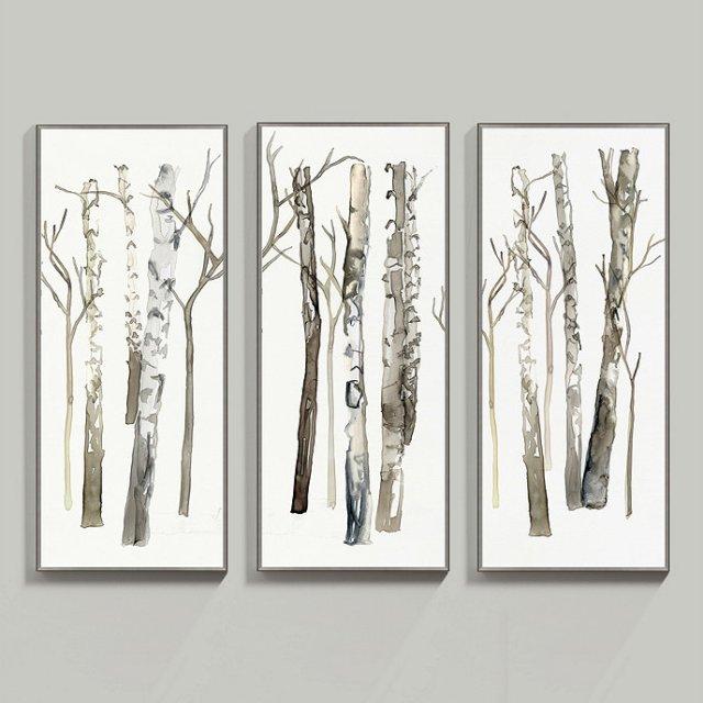 birch tree inspiration from Ballard Designs