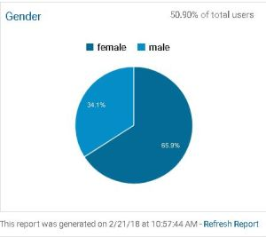 genders of user visiting web sites made by murrelli