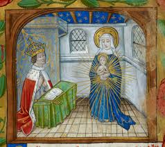 Henry VII adoring the Immaculate Conception of the Virgin