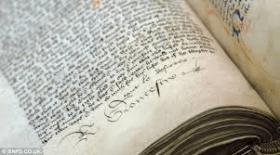 signature in book