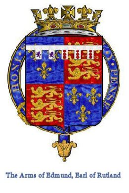 Arms of Edmund Earl of Rutland