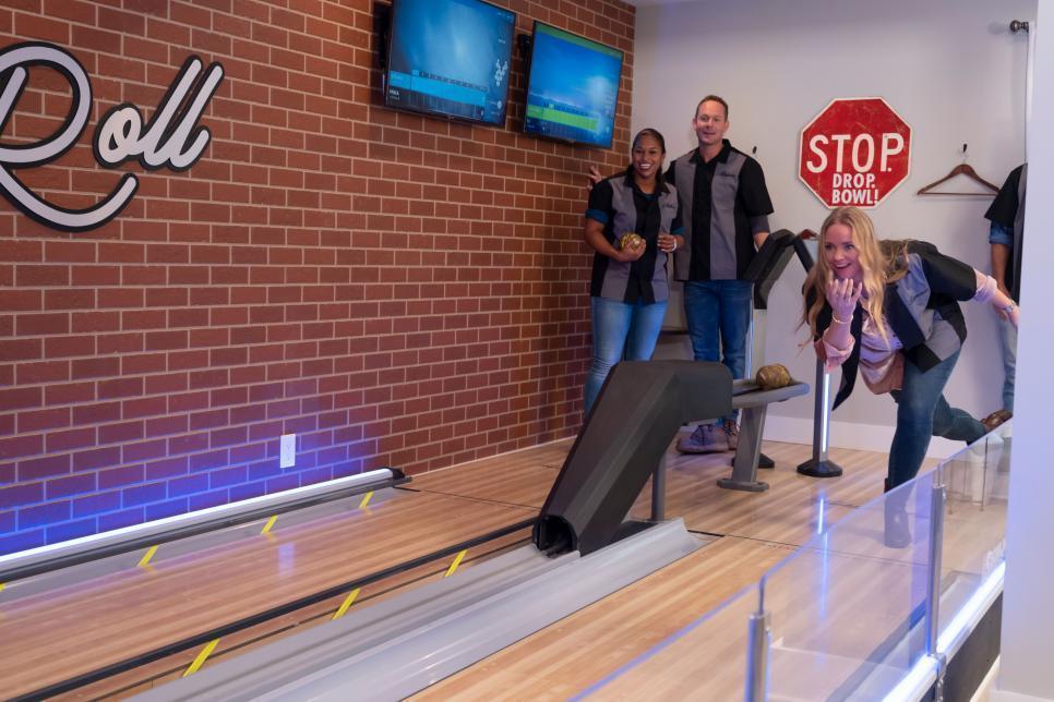 Basement Mini Home Bowling