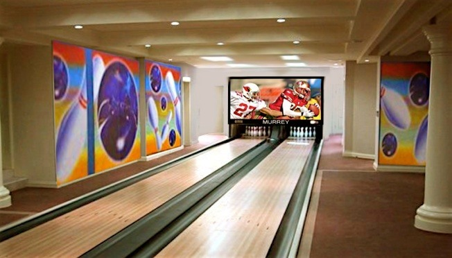 2 Lane Home Bowling Alley