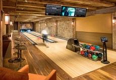 Man cave ideas, Bowling alley