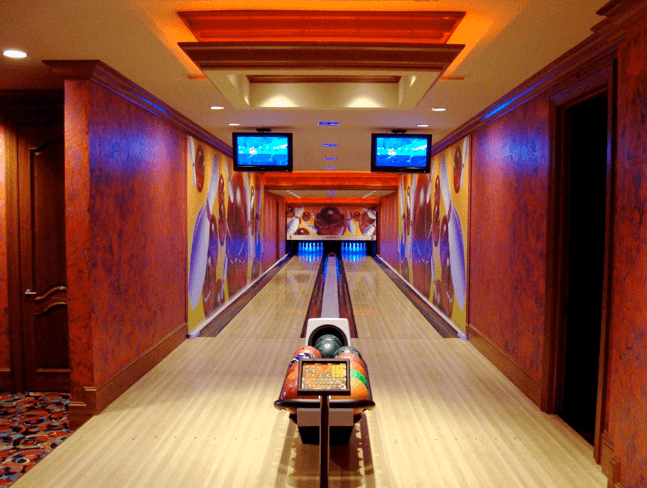 home bowling alley, residential bowling alley
